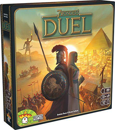 7 Wonders Duel Board Game testé cette semaine version 7 Wonders a 2 joueurs excellent Heu a 2! Je recommande vivement!