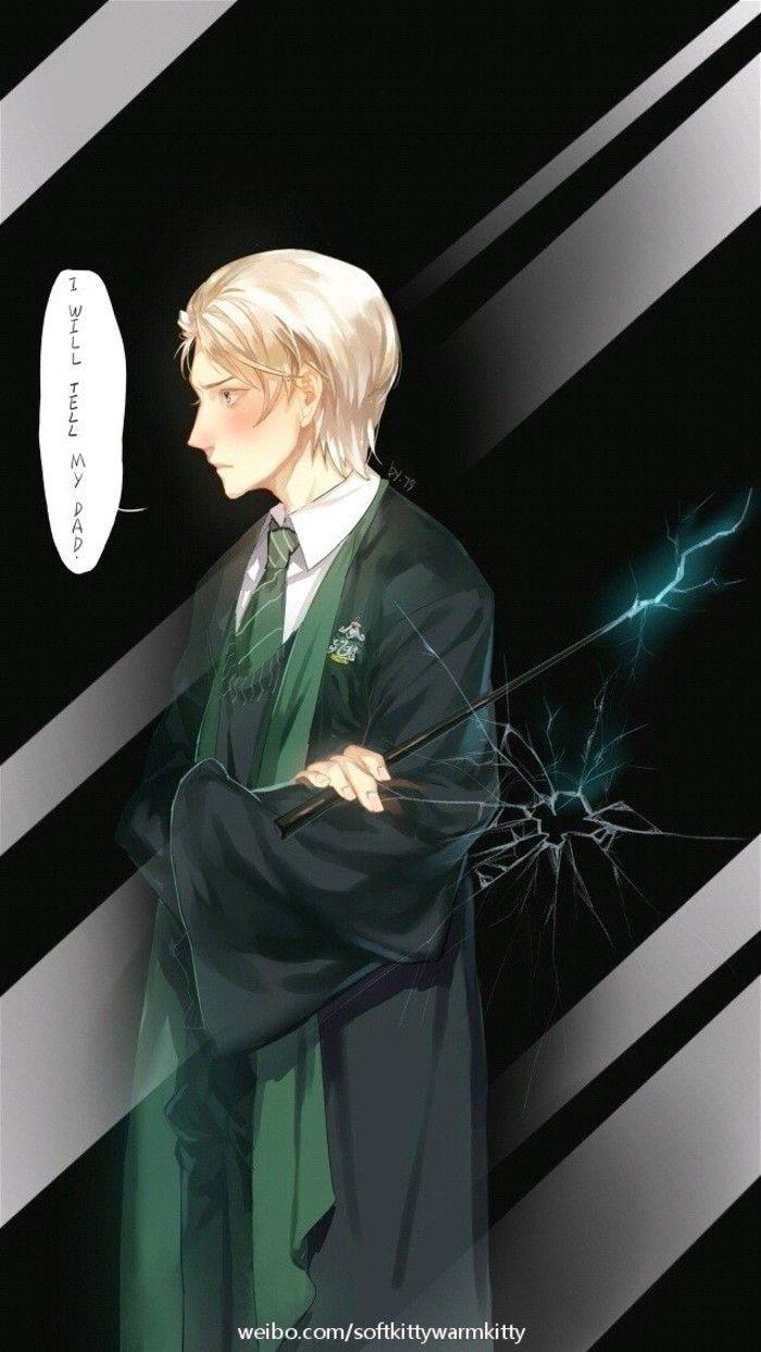 Harry Potter Wallpaper Draco Malfoy