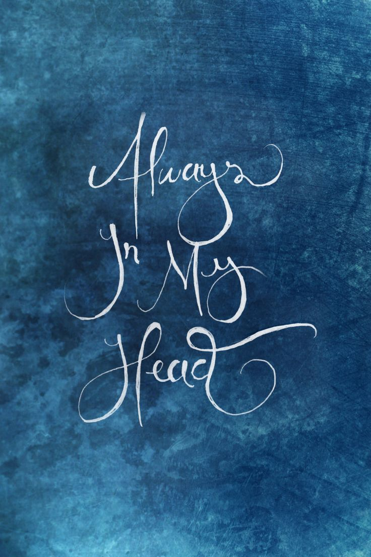 Always In My head - Coldplay | Lettering by @Jakin Poblete