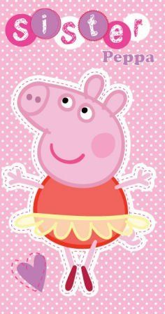 Peppa Pig Sister Birthday Card by Gemma International