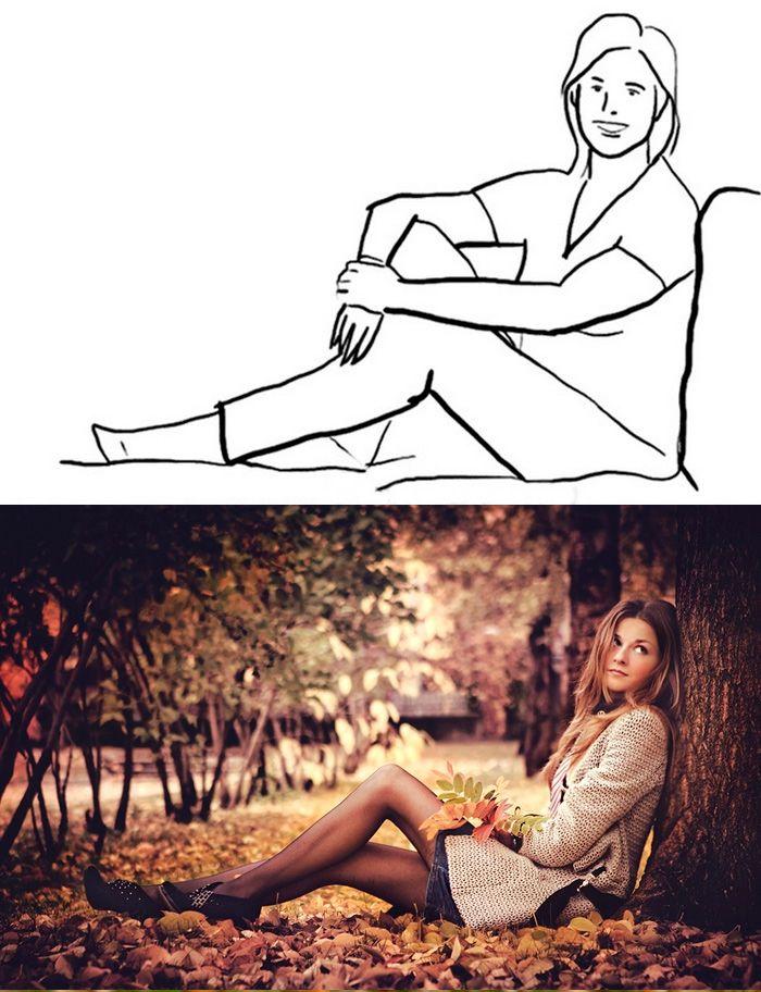 Как прикольно сфоткаться в парке лого фото