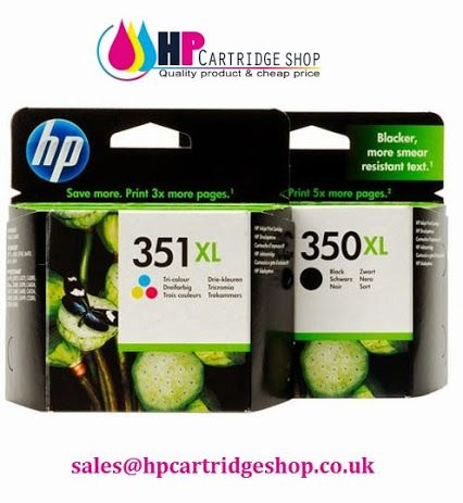 HP 350XL 351XL High Capacity Ink cartridges  HP350XL/HP351XL Genuine Multipack Ink cartridges are available in stock. HP 350Xl has 1000 page yield and each colour of HP 351Xl has 580 pages. To buy HP 350XL and 351Xl vist at our Shop http://www.hpcartridgeshop.co.uk/hp350xl-hp351xl-genuine-multipack-ink-cartridges.html