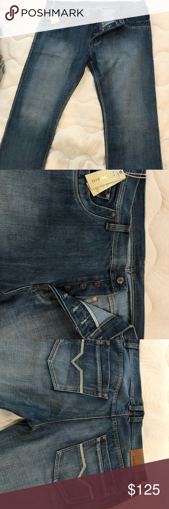 Jeans Only one brand new with tags Diesel brand jeans for men. Diesel Jeans Relaxed