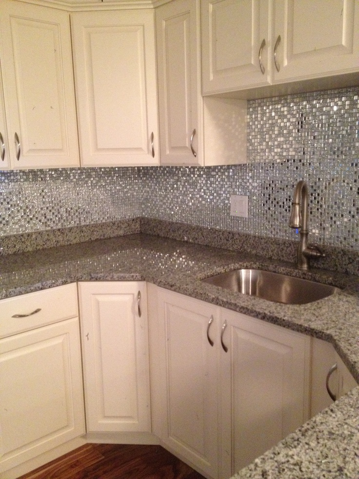 Kitchen Backsplash Small Glass Tiles Kay Riley Flooring And Design   Heart  This Kitchen!