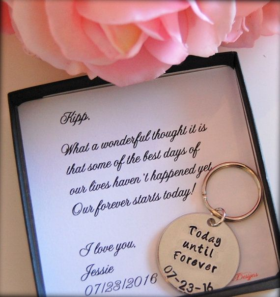 Nice Best Gift For Bride Part - 13: Groom Gift From Bride, Bride To GROOM Gift On Wedding Day, From Bride,