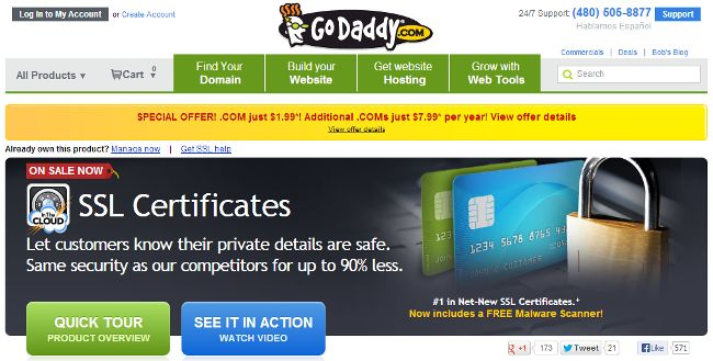Godaddy SSL Certificate Review 2014 - 35% Off Coupon Code