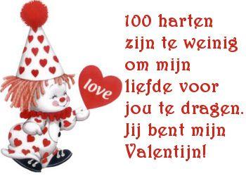 Jij bent mijn Valentijn! op Feest-Plaatjes.nl