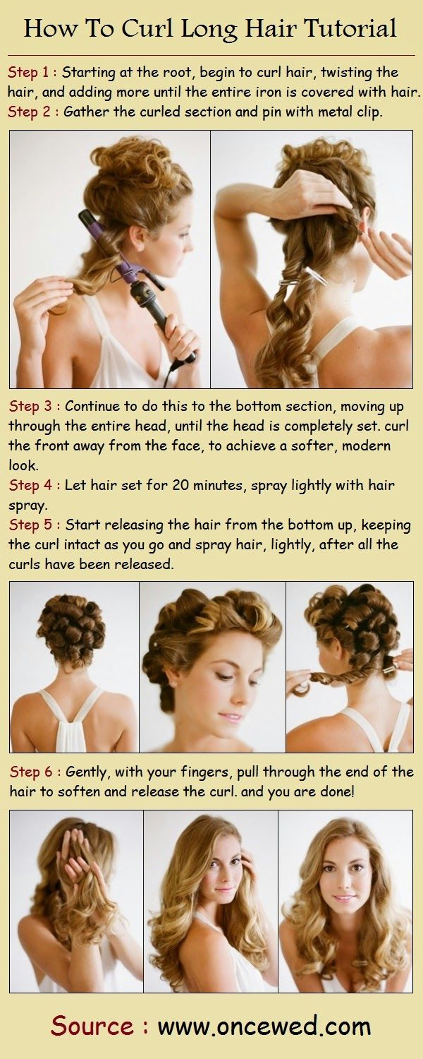 How To Curl Long Hair - The Ultimate Beauty Guide