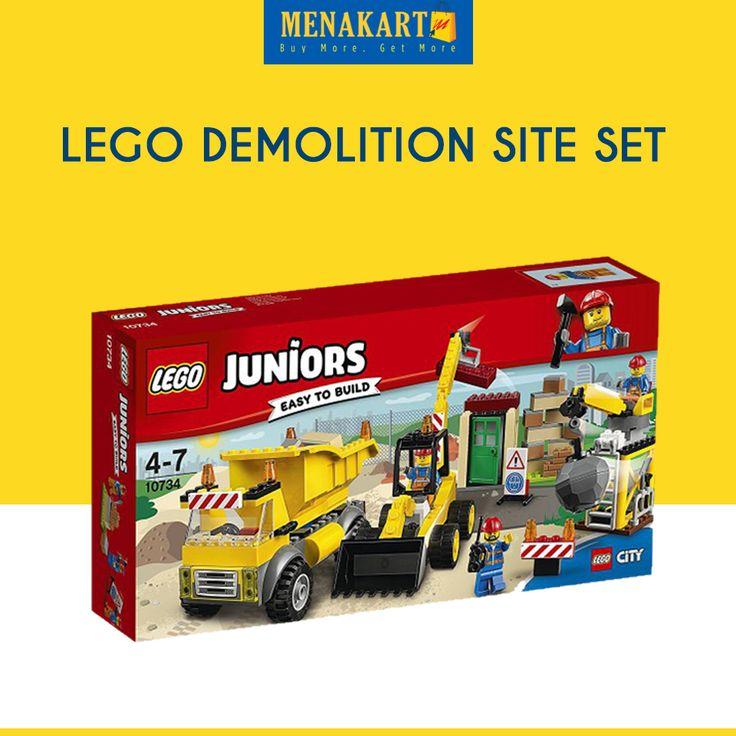 LEGO Demolition Site Set #Toys #LEGO #Online #Shopping #Menakart