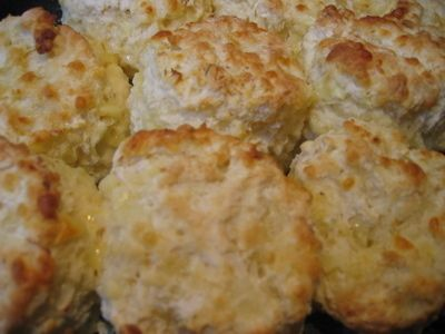 A savoury scone that is a perfect accompaniment to soup.