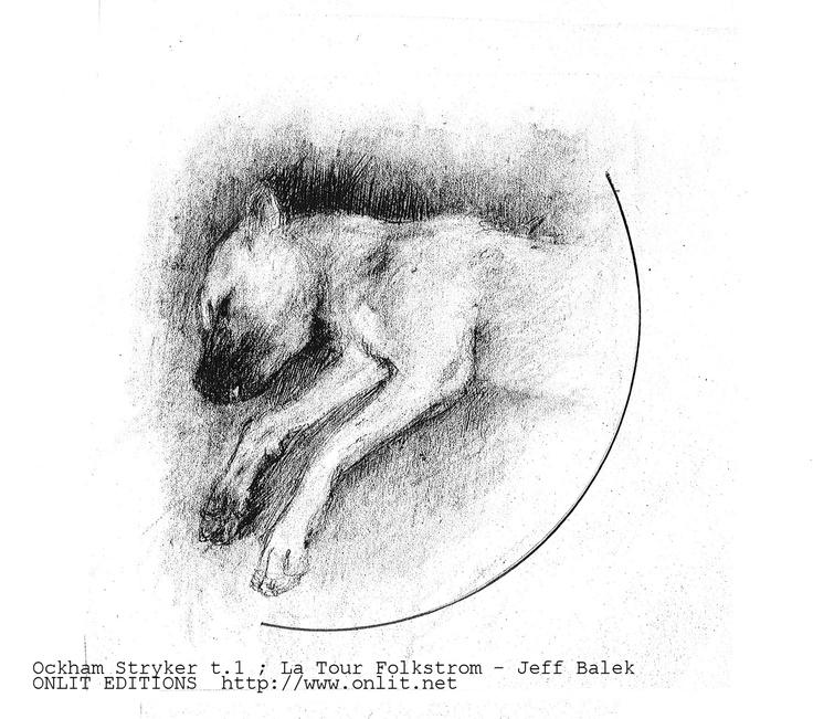 Le chien mort Vapomobile / Ockham Stryker t.1 ; La Tour Folkstrom - Jeff   Illustrations originales de Jean Aubert  A découvrir sur ONLIT EDITIONS  http://www.onlit.net