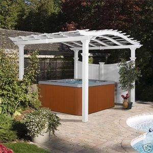 78 Best Images About Gazebo Hot Tub Ideas On Pinterest