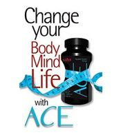 3 weeks in, 15lbs gone! I love ACE!! All I do is drink tons of water, eat maybe one meal a day, clean things constantly and exercise at the same time!!