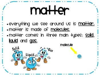 97 best images about Teaching - Science: Matter on Pinterest ...