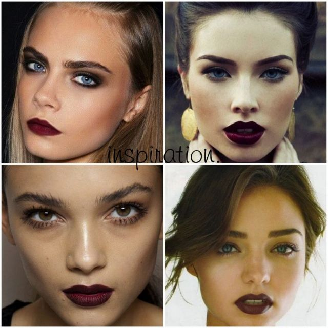 Oxblood lips for Fall