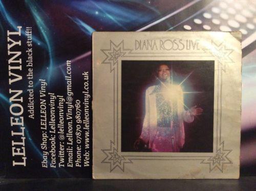 Diana Ross Live LP Album Vinyl Record STML11248 A1/B2 Tamla Motown 70's Music:Records:Albums/ LPs:R&B/ Soul:Motown
