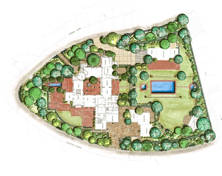 71 best architecture: landscape plan view images on pinterest