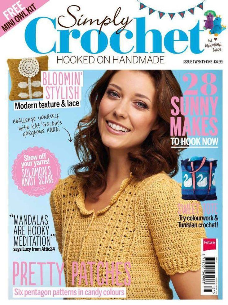 Simply Crochet Issue 21 2014 - 轻描淡写 - 轻描淡写