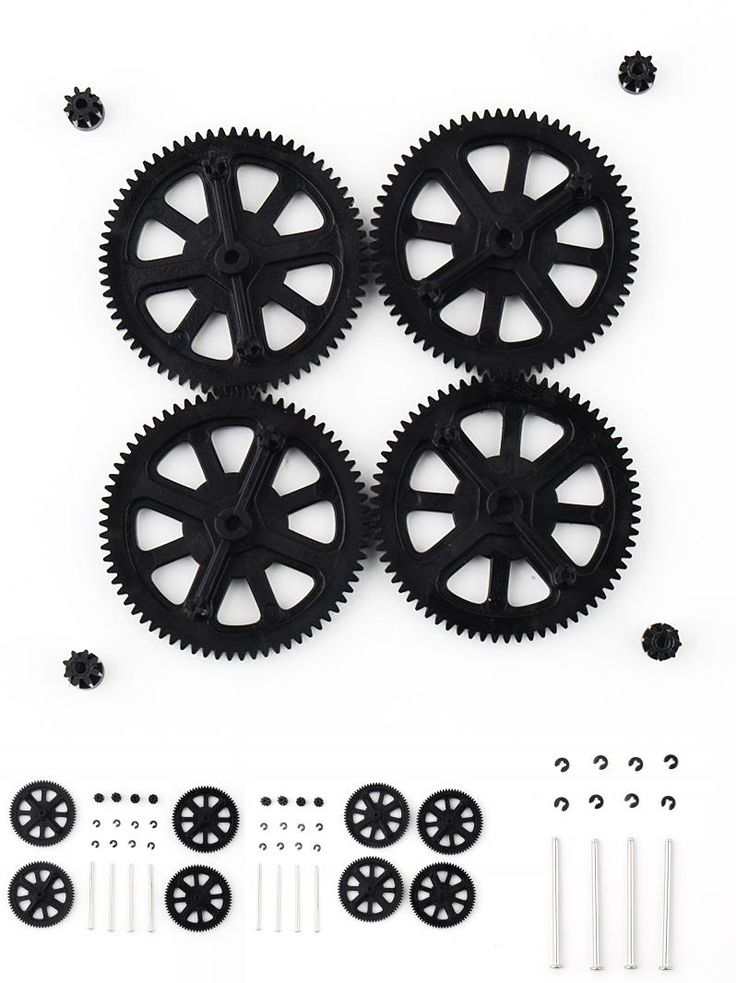 [Visit to Buy] New Motor Pinion Gear Gears&Shaft Replacement for Parrot AR Drone 1.0 2.0 #Advertisement