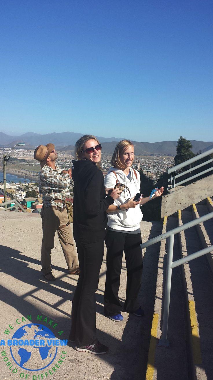 Volunteer Jennifer Atkinson in Chile La Serena volunteering at the Elderly Care center https://www.abroaderview.org