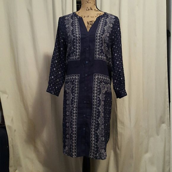 """OLD NAVY DRESS Navu blue dress..37"""" inches long. Ask for a bundle price can change to $13 plus 15% off. Old Navy Dresses"""