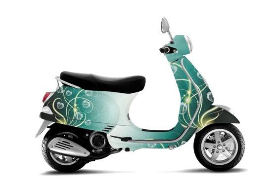 25 best moto decoration images on pinterest decor for Vespa decoration