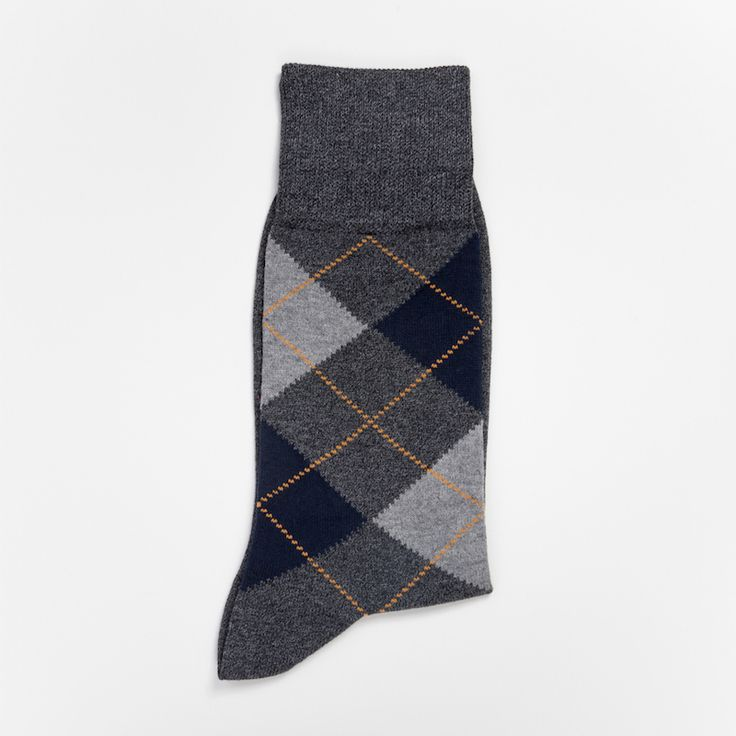 #socks #chaussettes #tartan #coton #grey #gris #luxe #madeinItaly #atelierparticulier