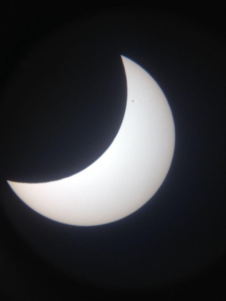 Partielle Sonnenfinsternis 2015 in Süddeutschland