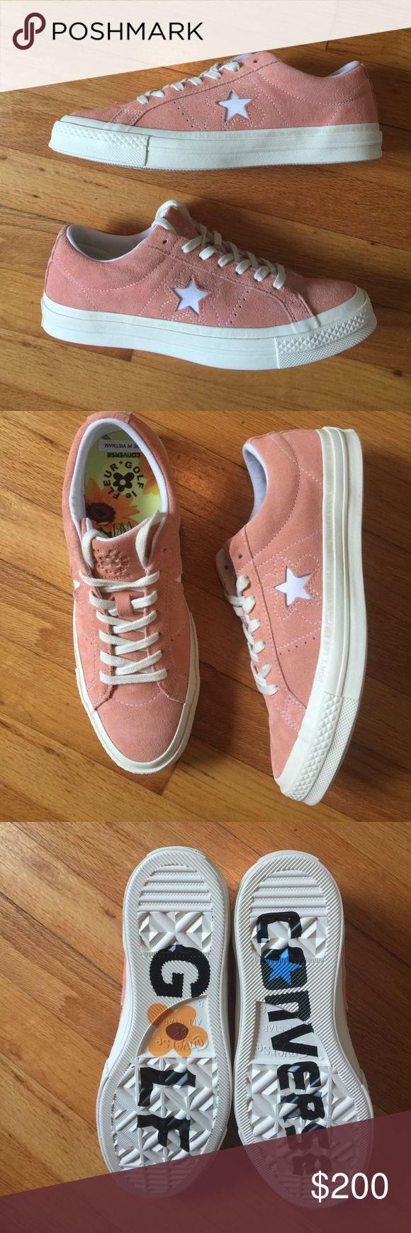 Converse- tyler the creator golf Le fleur 100% Deadstock in box. Men's size 8 = women's size 10 Converse Shoes Sneakers