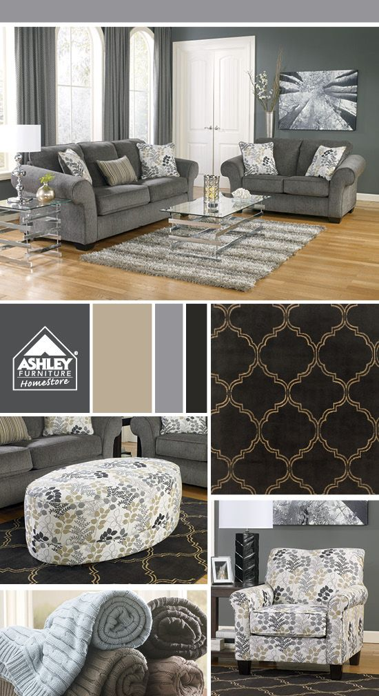Want this for my living room! (Makonnen Sofa - Ashley Furniture HomeStore)