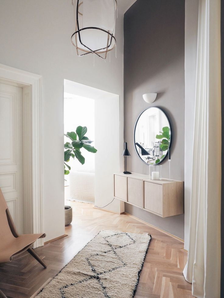 Corridor update: This is how a corridor in the scandi and boho look harmonises