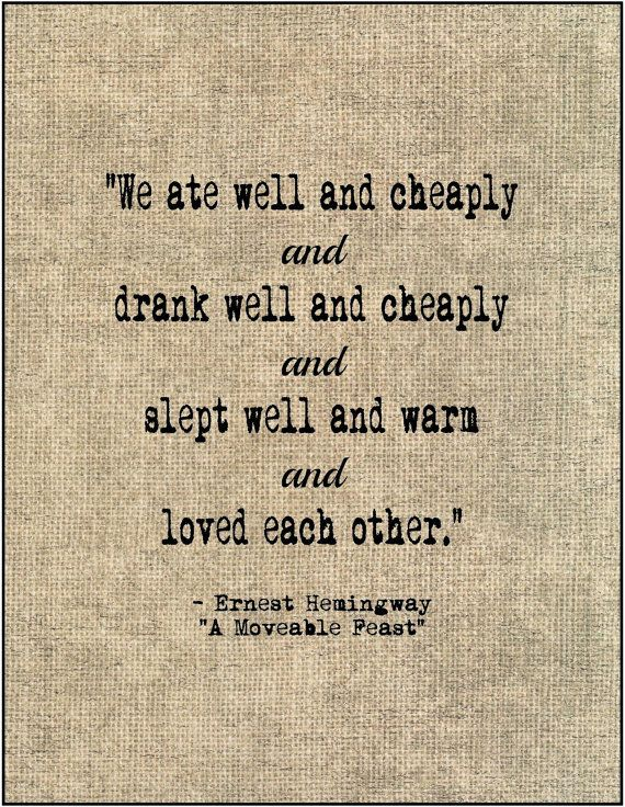 Ernest Hemingway Book Of Quotes