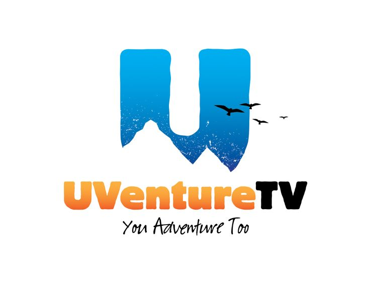 Logo design for UVenture TV. UVenture TV is an adventure channel that posts videos about the outdoors and all the adventures you will find in the outdoors. Their main focus is on nature and the mountains. They tell the stories of those searching for adventure outside. Whether it be skiing, hiking, kayaking, climbing, biking or anything that brings out your adventurous side, they are showing it off. Also design for YouTube Header and social media headers: