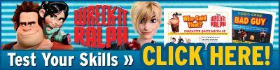 Download Wreck-It Ralph Printables