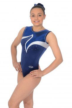 e06b3a18a1b8 Viva Sleeveless Gymnastics Leotard