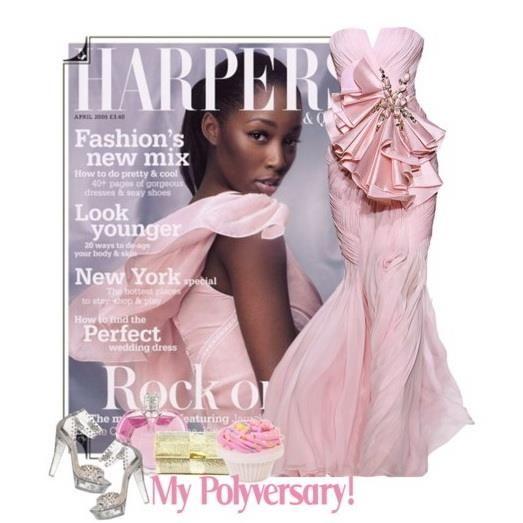 Розовое платье короткие стихи