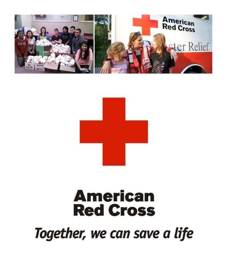 Yo soy una socia en Cruz Roja Americana. Socios de Cruz Roja Americana ayudar a la gente a prevenir emergencias.