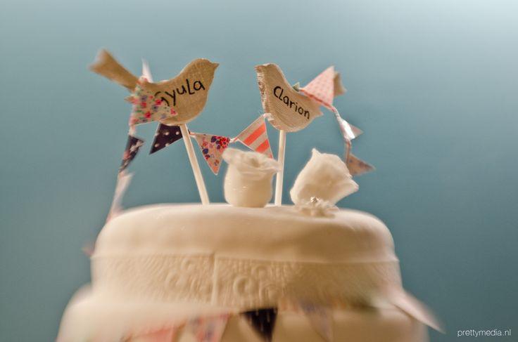 Weddingcake lovebirds2