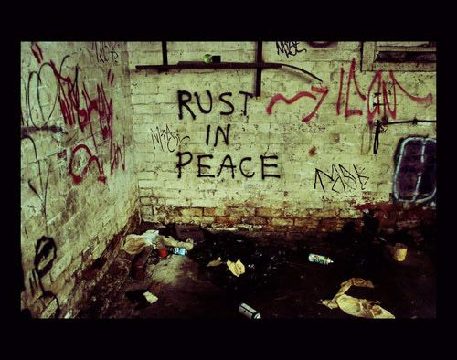 rust in peace Captivating Examples of Urban Decay Photography