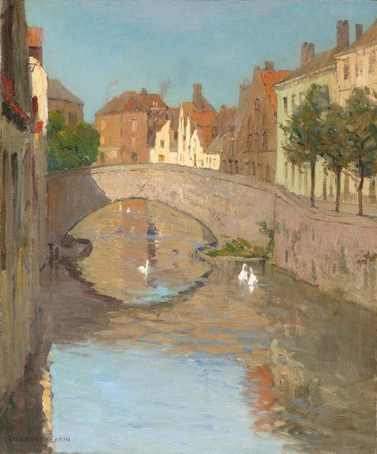 Image result for brugge canal 1900