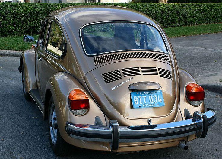 1976 VW Beetle 19,200 original miles Original factory Topaz Metallic