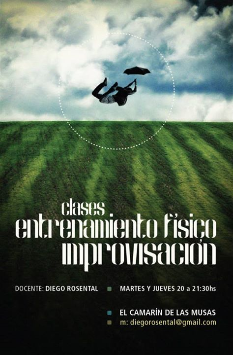 Flyer Danza Diego Rosental