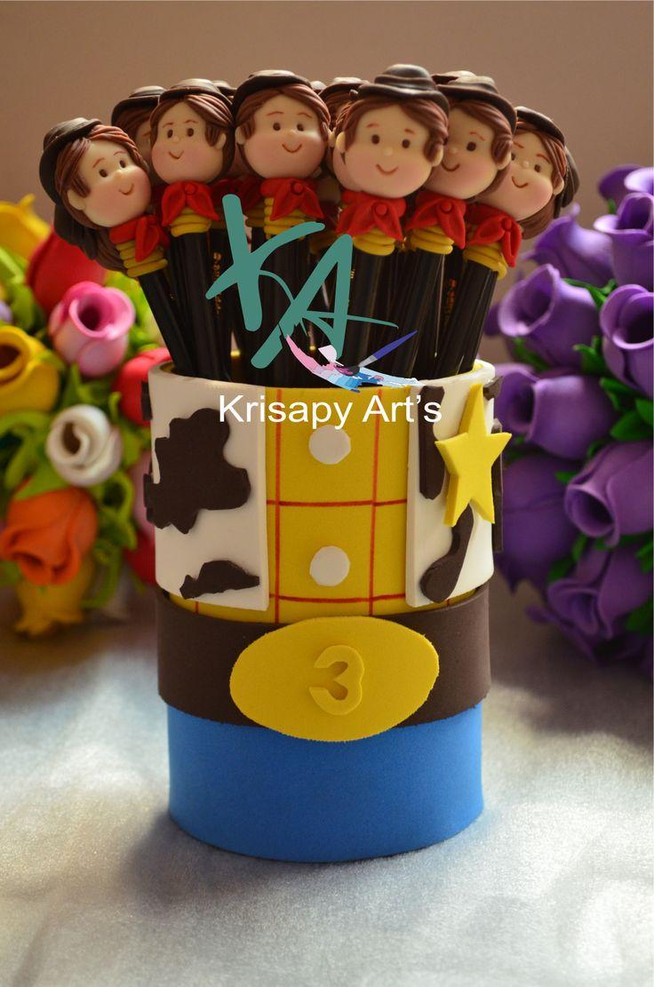 Porta Lápis e ponteira Toy Story
