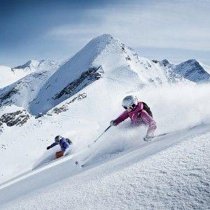 Kitzsteinhorn freeride lyžování