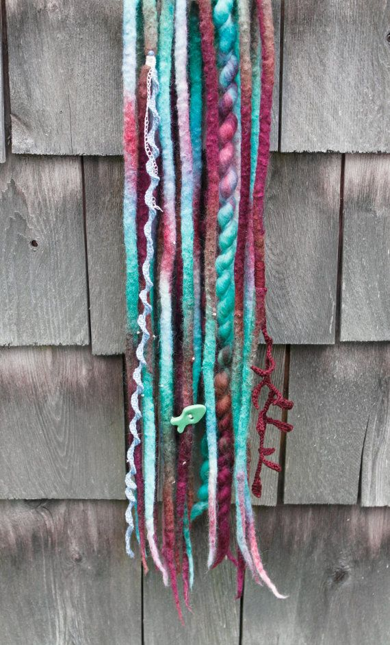 Deep Sea  Synthetic Dreads by NimsDreads on Etsy
