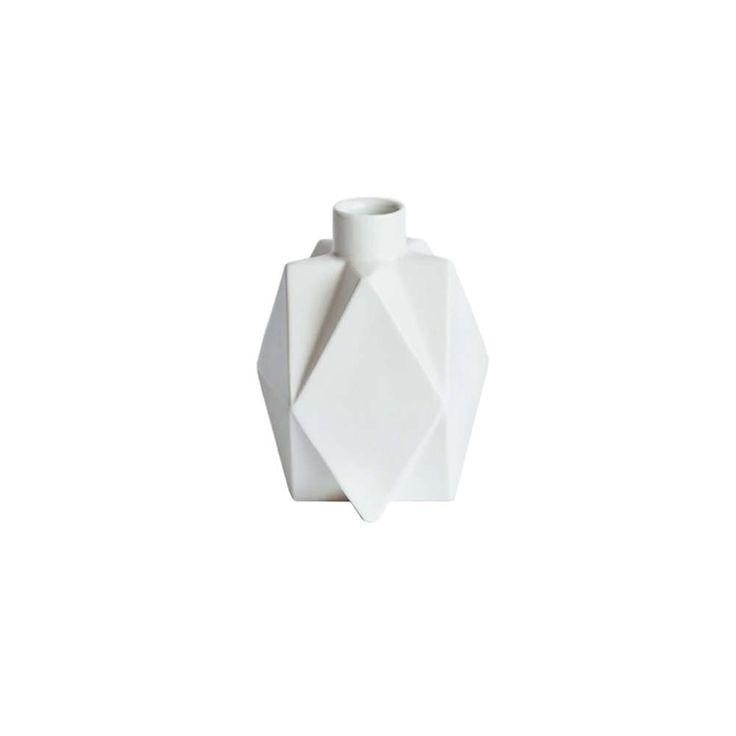 lenneke wispelwey vase star hvit
