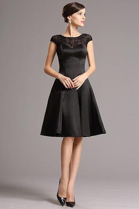 Čierne šaty E00761  3ec130aa80e
