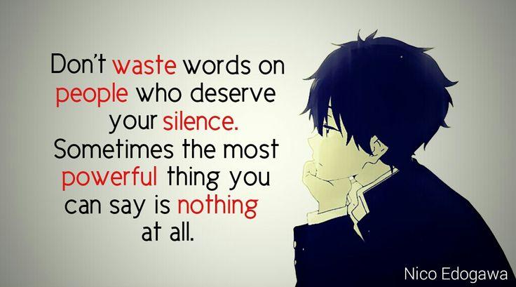 Sad, but maybe I should listen