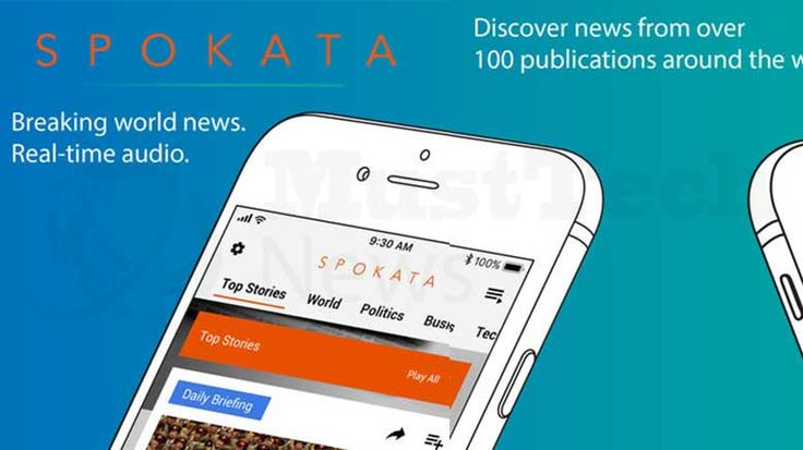 Spokata Launches First Text to Speech Mobile Audio Platform for Real-Time News  https://www.musttechnews.com/spokata-speech-mobile-audio-platform-news/  #spokata #texttospeech #mobile #audio #realtime #news #technology #musttechnews