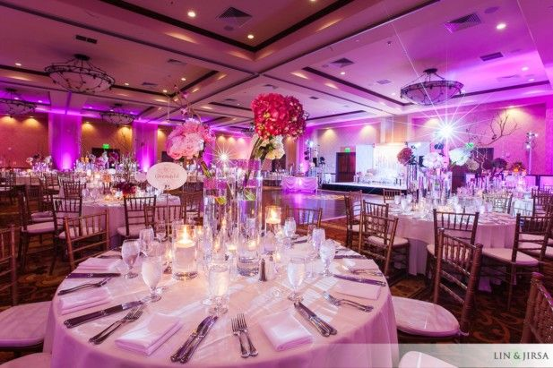 From the service to the beautiful in-house linens, there are SO many reasons to love luxury hotel weddings! See our top 5 on the blog.